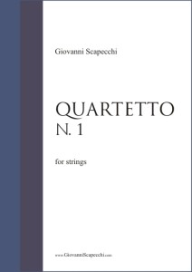 Quartetto N. 1 (2003) for strings