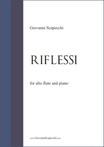 Riflessi (2004) for alto flute and piano