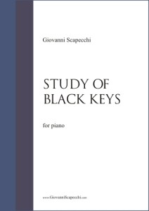 Study of black keys (2006) for piano