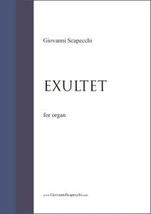 Exultet (2010) per organo