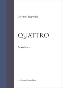 Quattro (2011) for orchestra