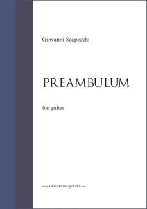 Preambulum (2012) per chitarra