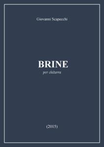 Brine (2015) for guitar